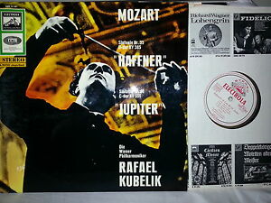 MOZART Sinfonie Symphony 35 & 41 R. Kubelik EMI SME 91397 (ASD 617) w/g NM - <span itemprop=availableAtOrFrom>Unterstadion, Deutschland</span> - Vollständige Widerrufsbelehrung -------------------------------------- Widerrufsbelehrung & Widerrufsformular -------------------------------------- Verbrauchern steht ein Widerrufsrec - Unterstadion, Deutschland