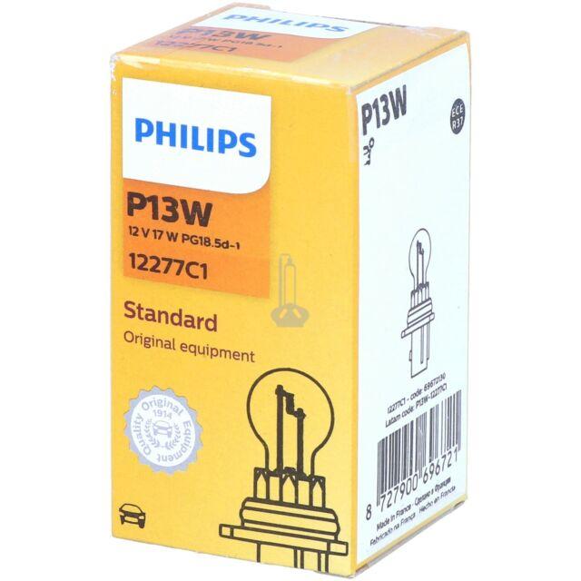P13W PHILIPS Standard Halogen Scheinwerfer Signal Innenbeleuchtung Lampe NEU
