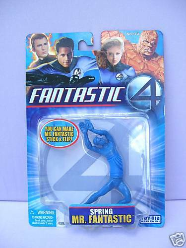 FANTASTIC Figure Fantastic Four SPRING MR New 4 inch