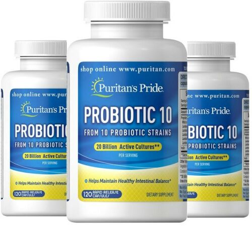 PROBIOTIC-20-BILLION-CULTURES-120-240-360-caps-10-PROBIOTIC-STRAINS-alflorex-P-amp-P
