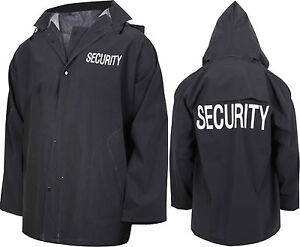 Black rain jacket ebay