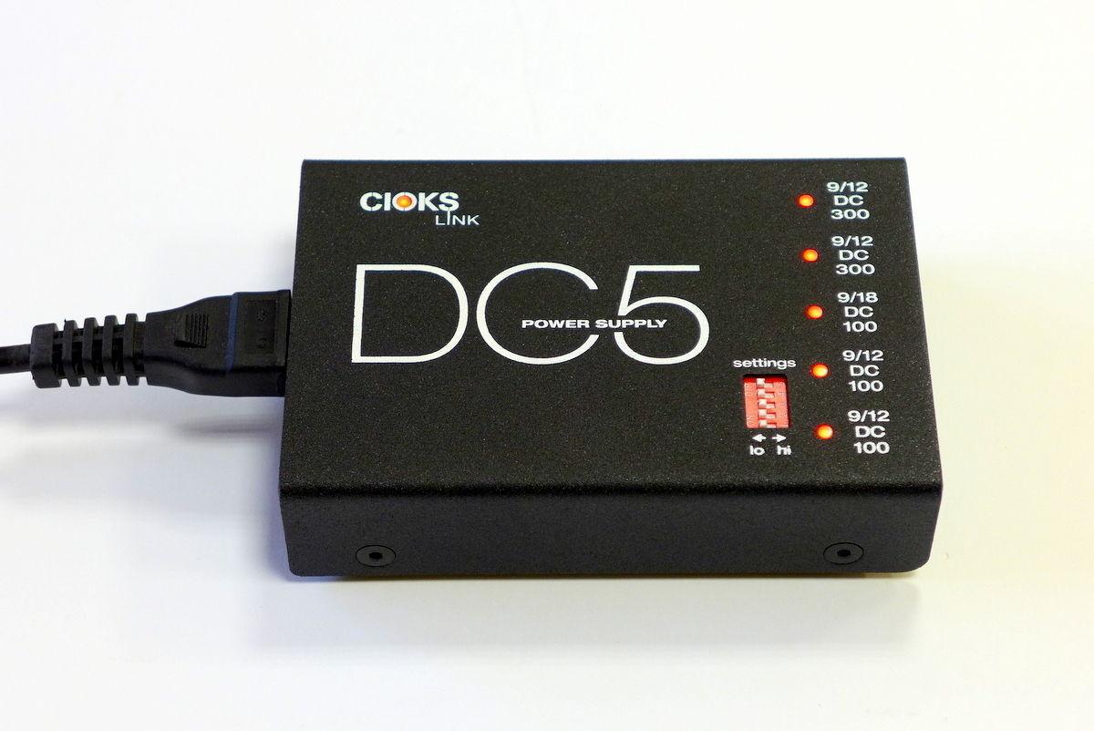 CIOKS DC5 Link Guitar Pedal Power Supply   DC 5