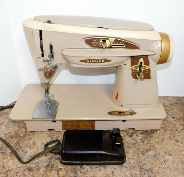 Vintage SINGER 40A Rocketeer Heavy Duty Sewing Machine EBay Awesome Ebay Sewing Machines Singer