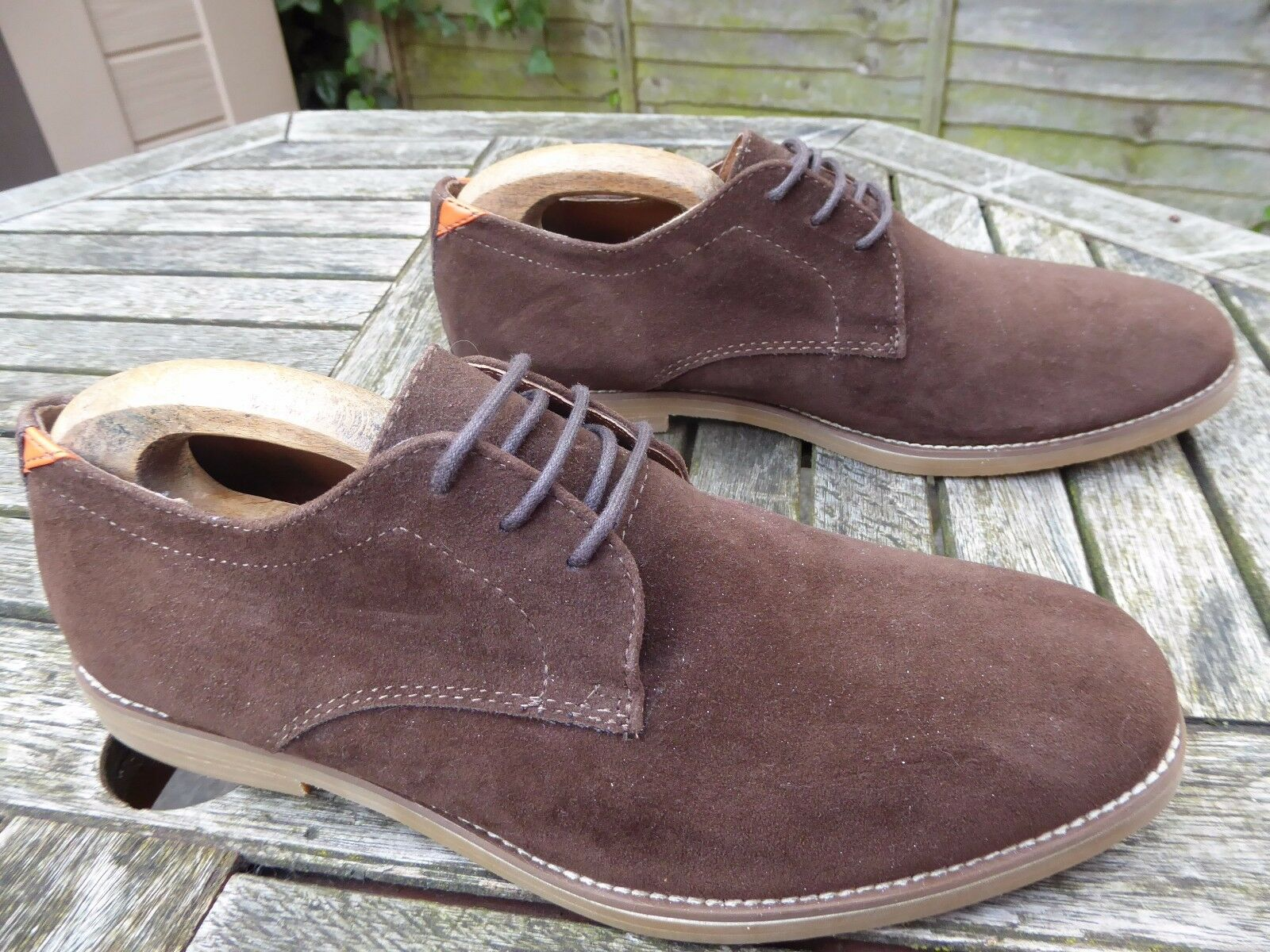 Mens KG by KURT GEIGER suede shoes - size 44 BNWOB