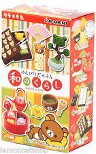Rilakkuma Re-Ment Japanese Life kawaii mini anime rement Doll House miniature