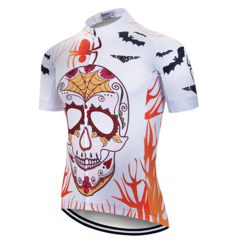 Mens Cycling Jersey Clothing Bicycle Sportswear Short Sleeve Bike Shirt Top XJ29