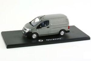 Miniatura-Nissan-NV200-Van-Dark-Grey-1-43-REX001
