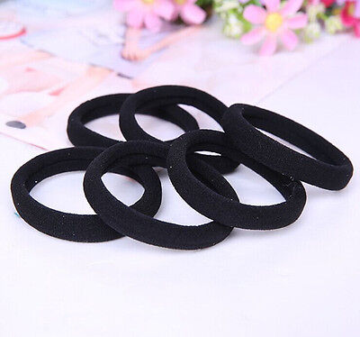 Lots Girls elastic hair ties band rope ponytail bracelets scrunchie Gift HS018