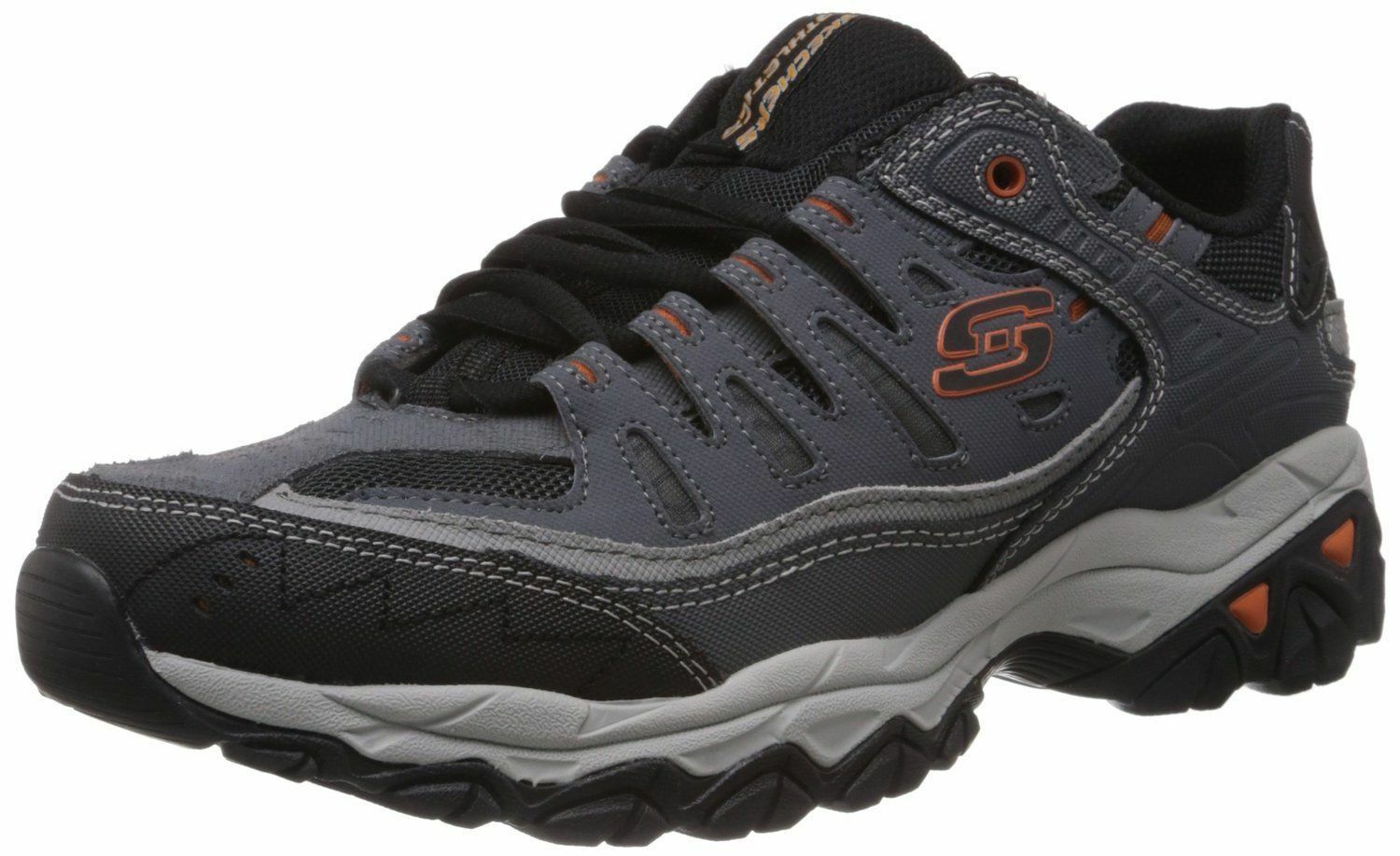 Skechers Sport Mens Afterburn Memory Foam Lace-Up Turnschuhe 50125 CCGY