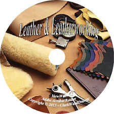 75 RARE books on DVD, Leather & Leatherworking, Tools Tanning Craft How to