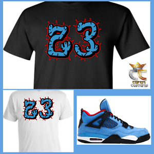 f0aab6dd63c2 EXCLUSIVE TEE T SHIRT 3 to match AIR JORDAN 4 TRAVIS SCOTT CACTUS ...