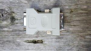 Adaptateur Dvi-vga Dvi-i Dual Link (24+5) à Svga Hd15 Analogique Moniteur Convertisseur-afficher Le Titre D'origine Finement Traité
