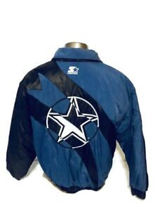 info for c11ee c27bf Details about Dallas Cowboys Starter Classic Team Collection Size Large  Jacket Free Ship