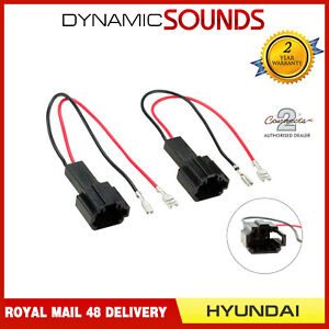 Details about CT9-HY9 Car Speaker Adaptor Plug Lead Connectors for  Hyundai All Models