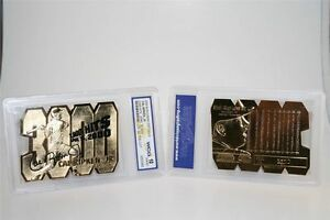 CAL-RIPKEN-JR-AUTOGRAPHED-LTD-ED-034-DIE-CUT-034-GEM-MT-10-23KT-GOLD-CARD-3-000-HITS