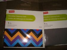 STAPLES MICROFIBER CLEANING CLOTH LOT OF 4