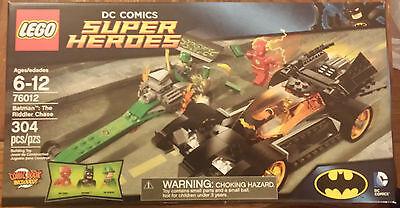 NEW LEGO 76012 DC Comics Super Heroes Batman The Riddler Chase Batmobile Flash