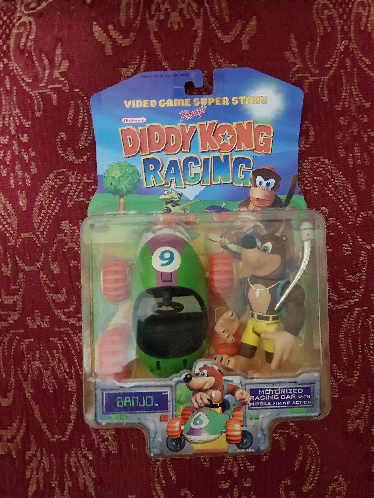 Action figure diddy kong racing banjo kazooie 1999 toy biz