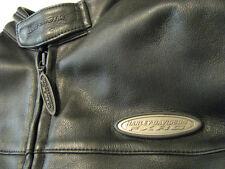 Harley Davidson FXRG Motorcycle Leather Jacket Armor Waterproof Mens XL