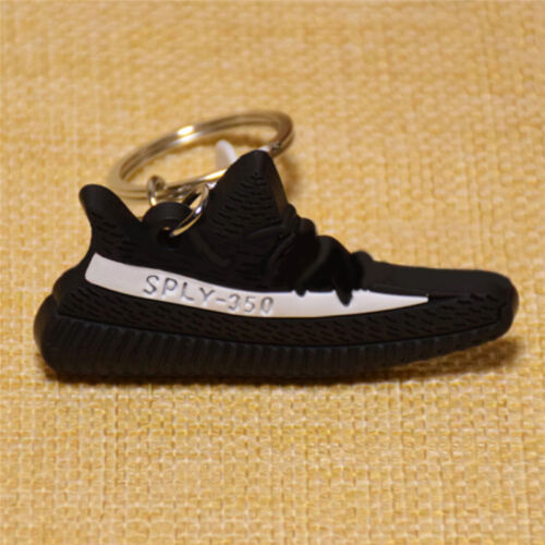 Fashion Boost 350 Keychain Keyring Key Ring Chain Sneaker Shoe Pirate BlackFDCA