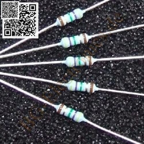 10 x 750 KΩ ½ Watt 1/% 750 kOhm Widerstand resistor ½W /   10pcs