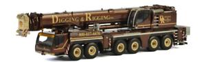 WSI 51-2019 1 50 SCALE LIEBHERR LTM 1350 DIGGING AND RIGGING CRANE