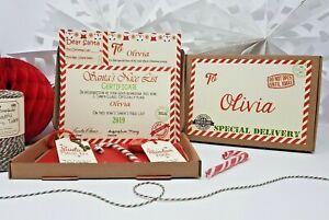 Personalised-Vigilia-di-Natale-Box-riempito-A5-Babbo-Natale-Lettera-Magic-Key-amp-Renna-Cibo