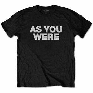 LIAM-GALLAGHER-As-You-Were-Oasis-Mens-T-Shirt-Unisex-Official-Licensed-Merch