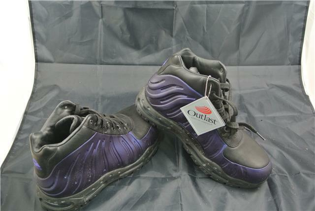 NIKE FOAMPOSITE BOOT SIZE 10 UK SHOES PURPLE/BLACK BOOTS EDITION SPECIAL EDITION BOOTS RARE 4f03bc