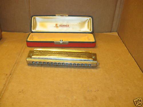 Harmonica Hohner 280 The 64 Chromonica Harmonica w Case