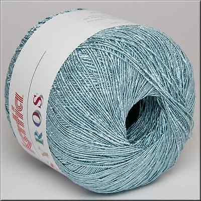 50g SYROS KATIA Lace Garn + Glanz-Effekt  Lacegarn Häkeln Lacewolle Crochet