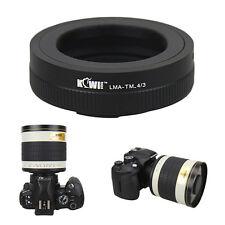 Adattatore obiettivo telescopio microscopio soffietto T / T2 per Leica Digilux 3