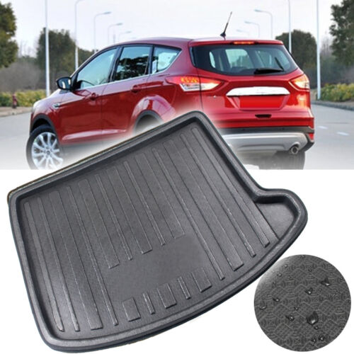 For Ford Escape Kuga  2013~2017  Rear Trunk Cargo Boot Liners Tray Protector Mat