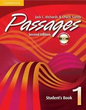 Passages Student's Book 1 with Audio CD/CD-ROM (Passages)