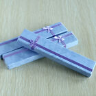 """5 Rectangle Jewellery Gift Boxes for Bracelets Pendant Earring Necklace 7.9x1.6"""""""