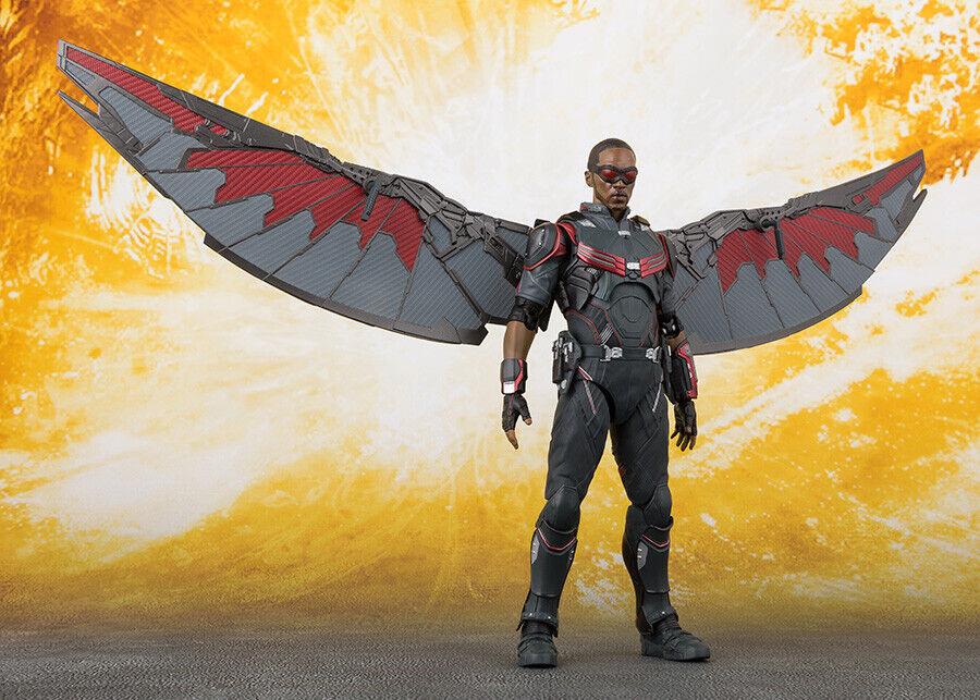 Beai  S.H. Figuarts Avengers Infinity War Falcon NUOVO  in vendita