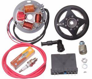Zuendung-Elektronik-12V-Grundplatte-Steuerteil-Schwungscheibe-pas-fuer-Simson-S51