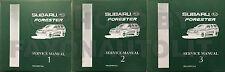 1998 Subaru Forester Shop Manual Set Original OEM 3 Volumes Repair Service Books