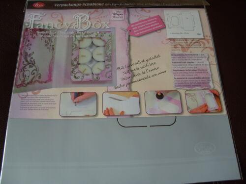 Rucksack Handbag OR Cradle Gift Box Stencils Football Pinflair Tealight