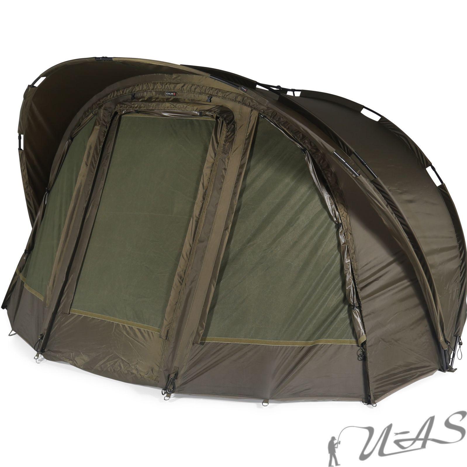 Chub Outkast Bivvy si 2 3,50 x 2,55 x 1,60m autopa Tenda 10.000mm Angel Tenda SHA