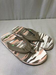 Sanuk Women's Yoga Mat 2 Sandals Marbled Size 8