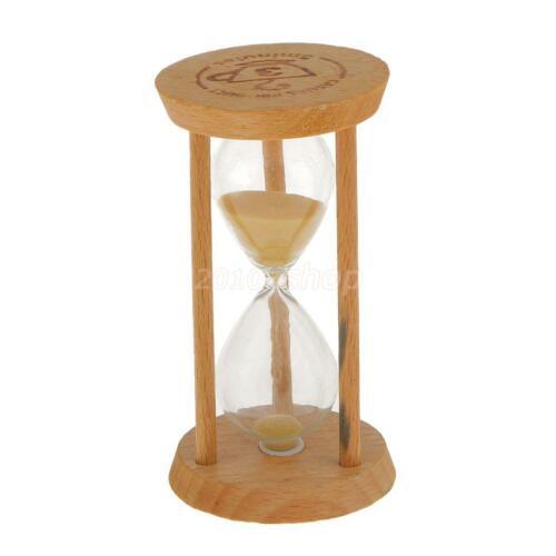 Holz Sandglass Sand Timer Sanduhr Küche Timer 3 Minuten Stunderuhr