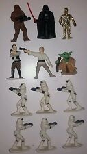 Bulk Vintage 1997 Tombola StarWars Star Wars toy doll figure Yoda Han Luke 1990s