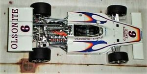 Race-Car-Ferrari-GP-1-F-Indy-25-1970s-24-Vintage-Built-43-Model-12-GT
