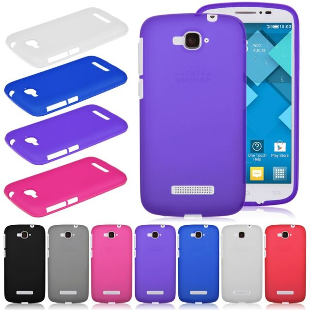Soft TPU Silicone Gel Case Cover for Alcatel One Touch Pop C7 OT-7040 / 7041