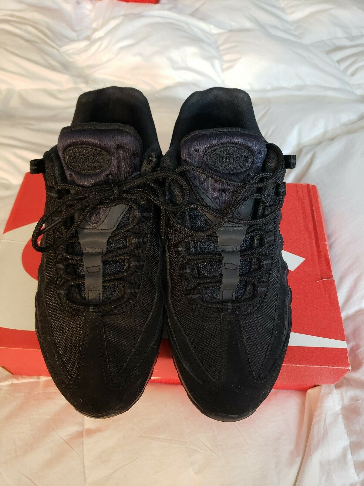 Nike Air Max '95 3M Mens Black on Blackshoes Size 8.5