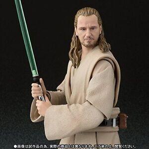 BANDAI-S-H-Figuarts-Star-Wars-Qui-Gon-Jinn-Action-Figure-JAPAN-OFFICIAL-IMPORT