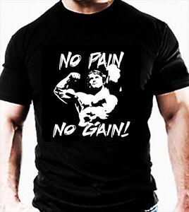 ARNIE Hommes Gym Sport T shirt Haut entraînement vêtements ... ce66b943525