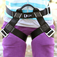 Climbing Harness Seat Belts Half Body For Outdoor Rappelling Zipline Kids Women