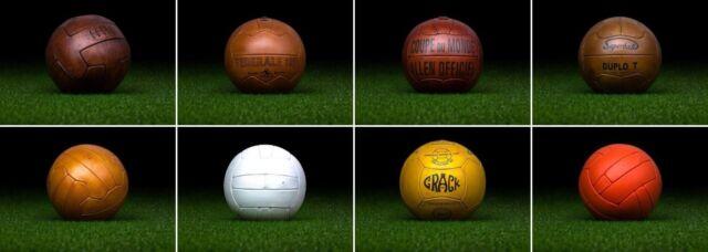 PRE-ADIDAS World Cup balls (before Telstar, Tango, Azteca, Etrusco, Jabulani)